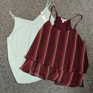 2 Cute Dressy Camisoles